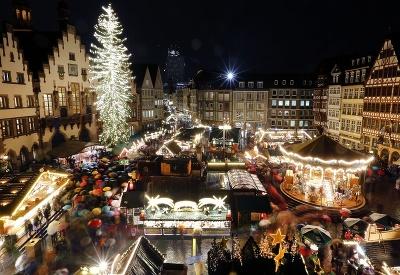 Námestie Römerberg vo Frankfurte