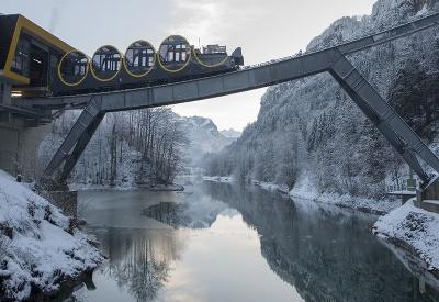Najstrmšia pozemná lanovka na svete