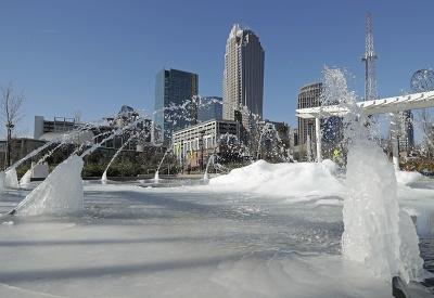 Zamrznutá fontána