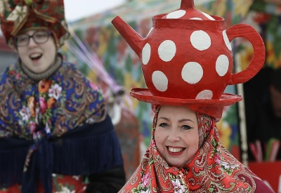 Žena v karnevalovej maske