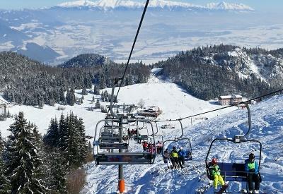 Prázdninová lyžovačka na Slovensku