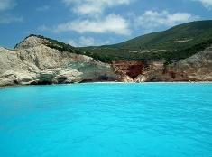Azúrové more v Grécku