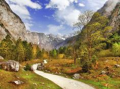 Alpy na jeseň