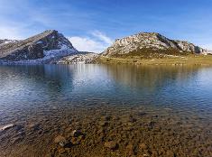 Jazerá pri Covadonge