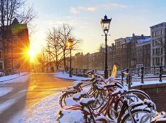Zima v Benátkach severu