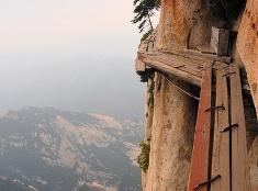 Jeden z najnebezpečnejších chodníkov sveta