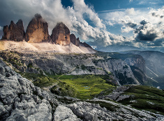 Talianske Dolomity sú plné farebných kontrastov