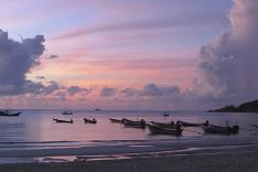 Na thajskej pláži vládne pokoj