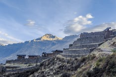 Inkské ruiny v Peru