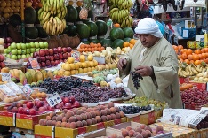 Trh v egyptskej Káhire