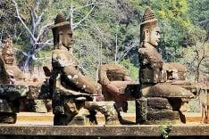 Sochy v Kambodži