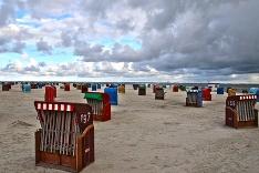 Pláž pri Severnom mori