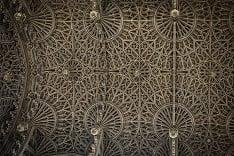 Prekrásny strop katedrály