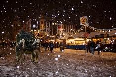 Zima v Norimbergu