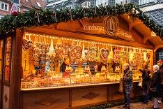 Vianočný stánok v Nemecku