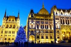 Vianočná Budapešť