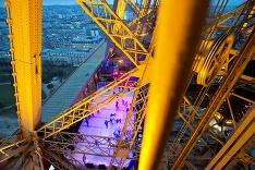 Korčuľovanie na Eiffelovke
