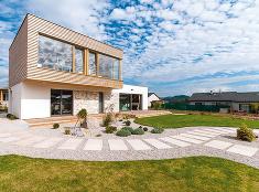 Pasívna drevostavba s perspektívou pohodlného a úsporného bývania na mnoho rokov