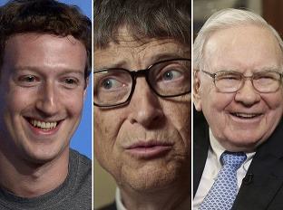 Mark Zuckerberg, Bill Gates
