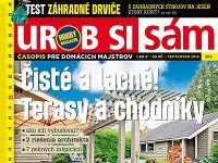 Septembrové vydanie časopisu Urob