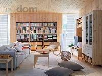 Svetlá obývacia izba