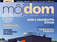 Časopis Môj dom august