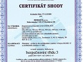 Certifikát zhody oodolnosti proti