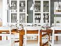 Jedálenský stôl Leskvik. Dizajn
