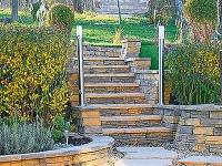 Záhradné schody svojpomocne