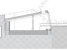 Jednoduchá dvojpriestorová stavba pozostáva
