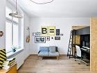 Jednoduchý a svieži byt