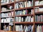 Knižnica z palisandrového dreva