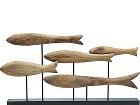 Dekorácia ryby na podstavci