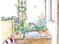 Nielen keď zaprší...: malé vodné prvky v záhradnej kompozícii