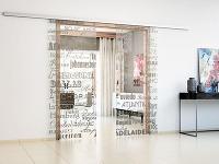 Posuvné dvere - praktické riešenie v miestnostiach s obmedzeným priestorom
