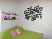 VÁŠ TIP: Koláž z obľúbených fotografií na stene