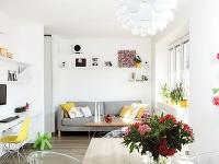Ako sa architektke podarilo na malú plochu bytu umiestniť všetko, čo si mladý pár želal