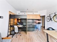 Multifunkčný malý byt pre pracujúceho otca so synom