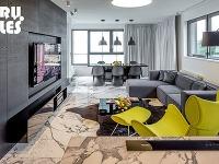 Máte radi mramor? Tento bratislavský byt budete milovať!