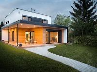 Takto vyzerá víťaz súťaže Pasívny dom 2016: Mimoriadne úsporný dom s krytou terasou!