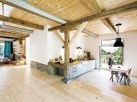 Veľká kuchyňa spriamym vstupom