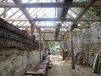 Krov stodoly vyžadoval generálnu