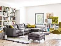 Premena obývacej izby s každým ročným obdobím