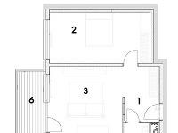 dvojizbový byt 1 predsieň