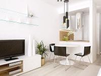 Návrh architekta, ako vytvoriť z miniatúrneho bytu plnohodnotné bývanie