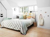 Nevzdávajte sa úložných priestorov v malej spálni! Dá sa to aj takto