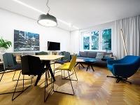 Radikálna rekonštrukcia trojizbového bytu v bratislavskej tehlovej bytovke