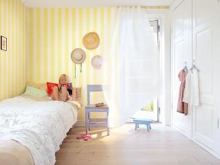 Svetlé odtiene žltej miestnosť