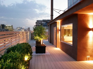 Krásne terasy aj po