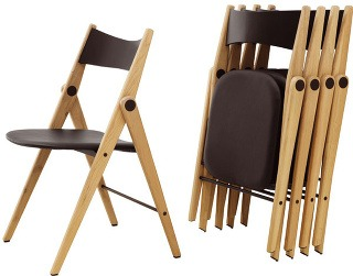 Stohovateľná stolička Oslo, dub,